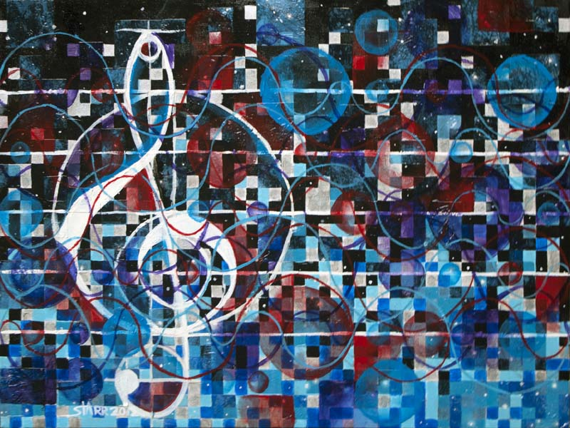 Music and Math © Starr Shumaker